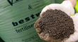 The leftover material, called sludge, is treated to produce fertiliser products.