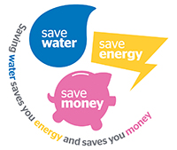 Save Water Save Energy Save Money logo